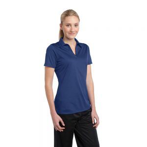 SPORT-TEK® LADIES ACTIVE TEXTURED POLO LST690