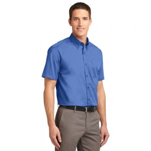S508 PORT AUTHORITY® SHORT SLEEVE EASY CARE SHIRT
