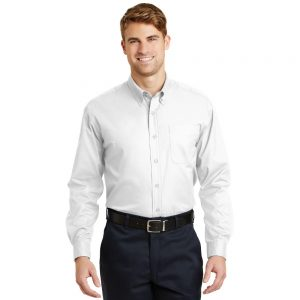 CORNERSTONE® – LONG SLEEVE SUPERPRO TWILL SHIRT SP17