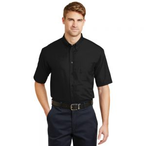 CORNERSTONE® – SHORT SLEEVE SUPERPRO TWILL SHIRT SP18
