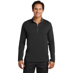 779795 MEN'S NIKE DRI-FIT STRETCH 1/2-ZIP COVER-UP