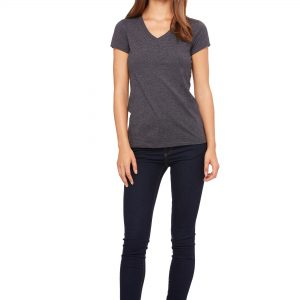 BELLA FEMALE FIT V-NECK T-SHIRT 6005