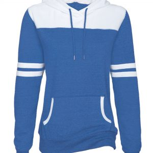 EZ371 ENZA LADIES VARSITY FLEECE HOOD