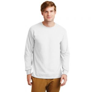 ULTRA COTTON LONG SLEEVE UNISEX T-SHIRT 2400