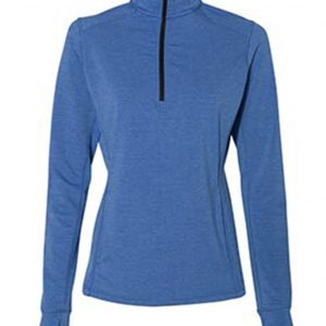 J AMERICA LADIES OMEGA STRETCH 1/4 ZIP JA042