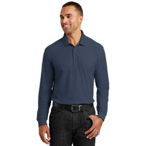 PORT AUTHORITY® LONG SLEEVE CORE CLASSIC PIQUE POLO K100LS