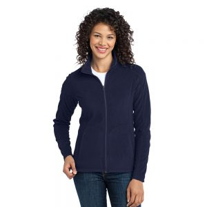 L223 PORT AUTHORITY LADIES MICROFLEECE JACKET