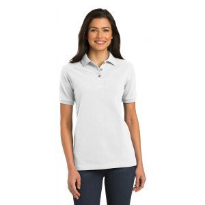PORT AUTHORITY® LADIES PIQUE KNIT POLO L420