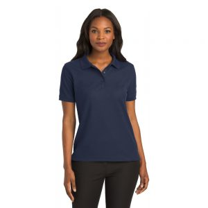 L500 PORT AUTHORITY® LADIES SILK TOUCH™ POLO
