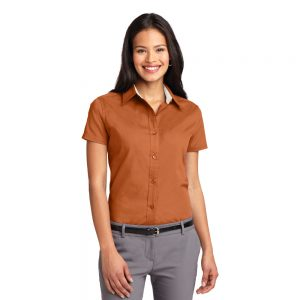 PORT AUTHORITY® LADIES SHORT SLEEVE EASY CARE SHIRT L508