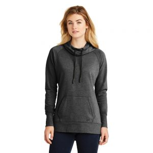 NEW ERA® LADIES TRI-BLEND FLEECE PULLOVER HOODIE LNEA510