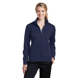 LST241 SPORT TEK LADIES FLEECE FULL ZIP JACKET