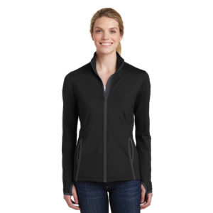 SPORT-TEK® LADIES SPORT-WICK® FULL-ZIP JACKET LST853