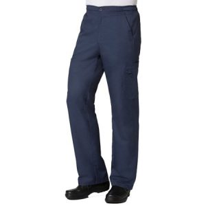 EON LINE 8308 MEN'S HALF ELASTIC CARGO PANTS W/POCKETS