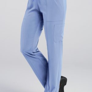 PURE 7901 LADIES RELAXED-FIT ELASTIC DRAWSTRING CARGO PANT