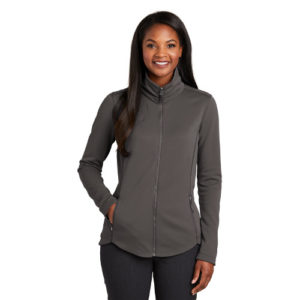 L904 PORT AUTHORITY LADIES SMOOTH FLEECE JACKET