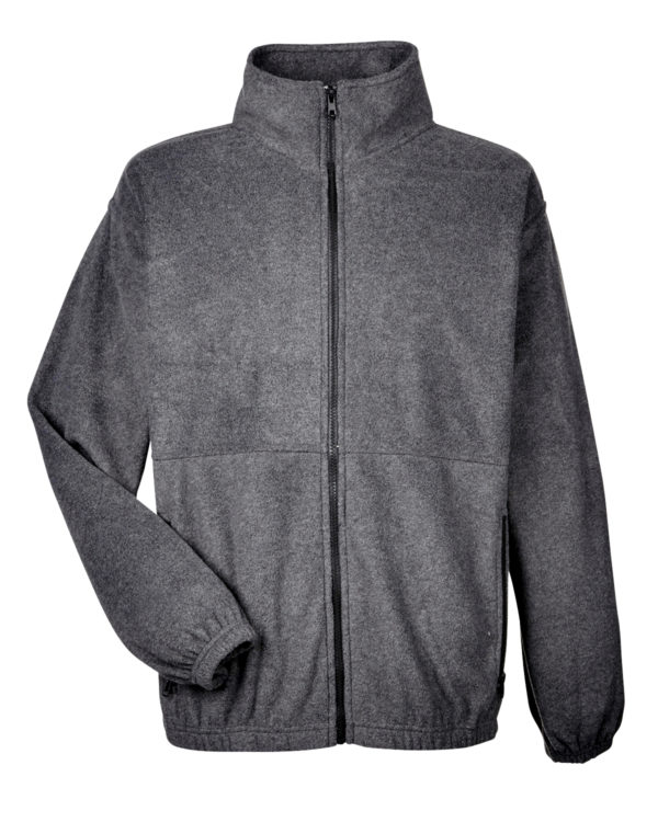 8485 UltraClub Men's Iceberg Fleece Full-Zip Jacket