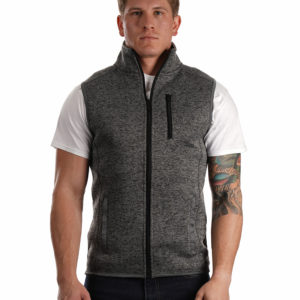 Burnside® Sweater Fleece Vest BU437