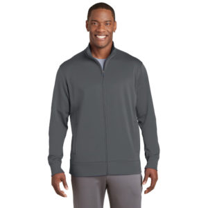 SPORT TEK UNISEX FLEECE FULL-ZIP JACKET ST241