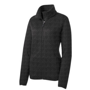Port Authority® Ladies Sweater Fleece Jacket L232